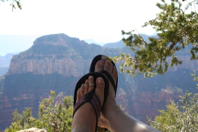 Canyon Feet